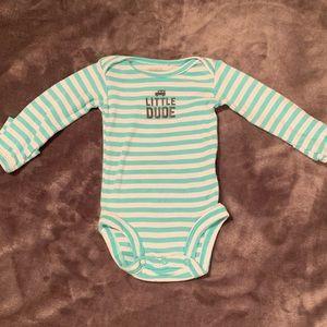 🧶Carter's Long Sleeve Onsie Newborn